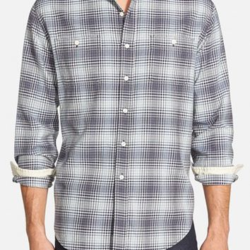 Men's Grayers 'Vintage Twill' Modern Fit Check Sport Shirt,