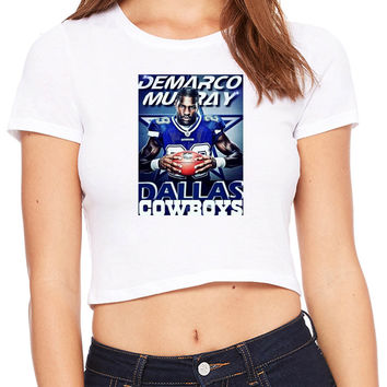 Demarco Murray Dallas Cowboys Crop T-shirt