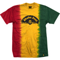 Shake Junt Dreads Short Sleeve Rasta T-Shirt