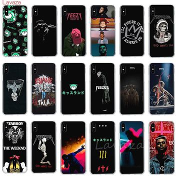 Lavaza Ye Kanye Omari West Art YEEZUS Hard Phone Case for Apple iPhone 6 6s 7 8 Plus X 5 5S SE Cover for iPhone XS Max XR Cases