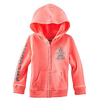 Product: OshKosh B'Gosh® Girls' 6 Month-6X Fleece Hoodie