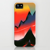 Hot Lava iPhone & iPod Case by Amelia Senville