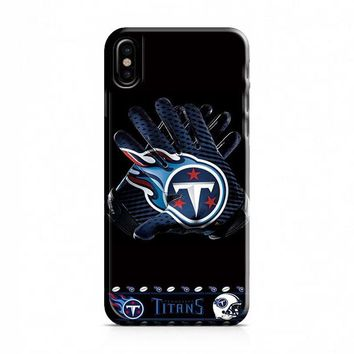 TENNESSEE TITANS FOOTBALL iPhone X Case