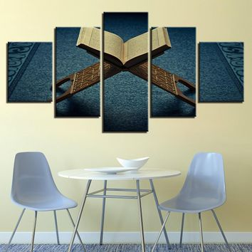 Wall Art Basic Christian Beliefs Jesus Canvas Printed Modern Picture Painting Artwork Picture for Living Room Home Decorative