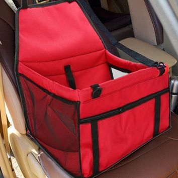 Dog Carrier Car Safety Seat