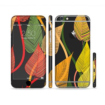 The Colorful Pencil Vines Sectioned Skin Series for the Apple iPhone 6/6s Plus