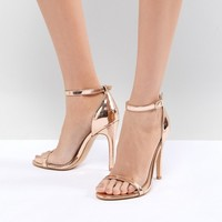 Truffle Collection Barely There Heel Sandal at asos.com