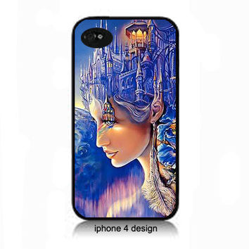 Beautiful Lady Design Iphone 4/4s accessory case