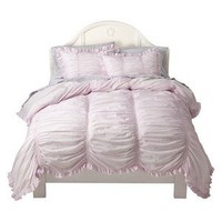 Simply Shabby Chic® Smocked Duvet Cover Set - Pink