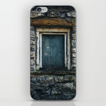 Who's That Peepin' In The Window? iPhone & iPod Skin by Mixed Imagery