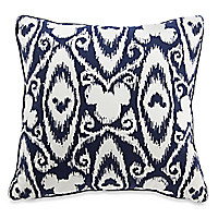 Mickey Mouse Icon Indigo Pillow