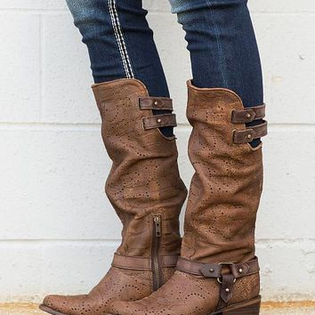 Corral Deer Riding Boot