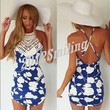 Women's Summer Bandage Bodycon Lace Evening Party Cocktail Short Mini Dress,Sexy