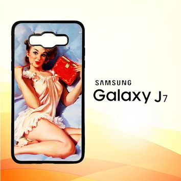 The Pin Up Girls Y1974 Samsung Galaxy J7 Edition 2015 SM-J700 Case