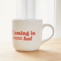 Coming In Hot Mug | Urban Outfitters
