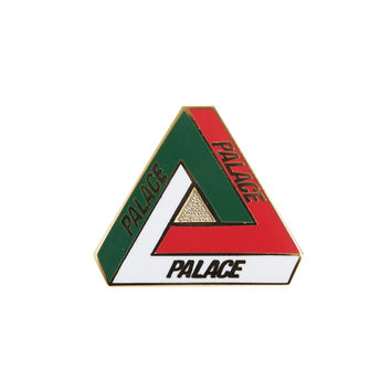 Tri-Ferg Pin Badge Italia | Palace Skateboards