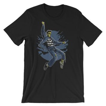 Zombie King Short-Sleeve Unisex T-Shirt