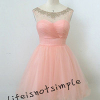 NEW short prom dress, homecoming dress ,evening dress, party dress dresscustom size/custom color