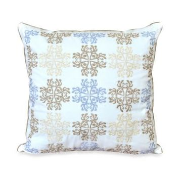 Nostalgia Home™ Valinda Square Toss Pillow in Grey