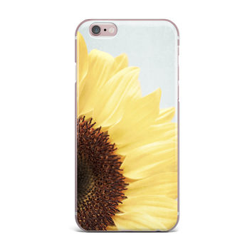 "Susannah Tucker ""Sunshine"" Sunflower iPhone Case"