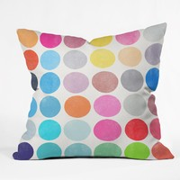 Garima Dhawan Colorplay 9 Throw Pillow