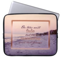 Tans Will Fade Computer Sleeve
