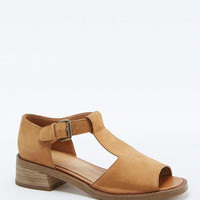 Brooke Tan Nubuck T-bar Sandals - Urban Outfitters
