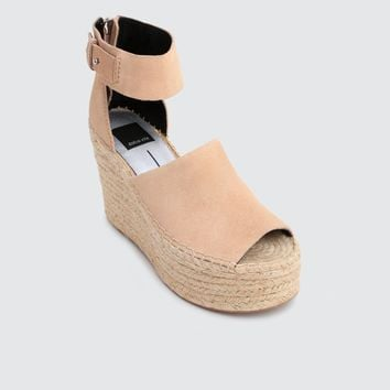 Women's Dolce Vita Straw Wedge