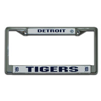 Detroit Tigers MLB Chrome License Plate Frame