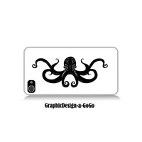 Octopus cell phone case, Iphone 4/4s case, original design