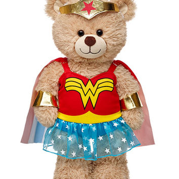 Wonder Woman Classic Costume 4 pc. | Build-A-Bear