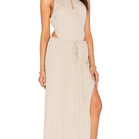 MAID by Yifat Oren x REVOLVE Lauren Gown in Nude