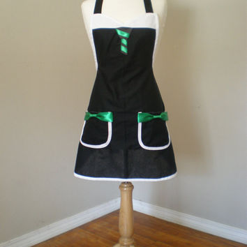 Slytherin Harry Potter  inspired  Cosplay Costume Apron