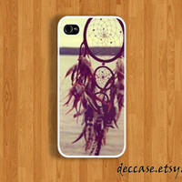 IPHONE 5 CASE  iPhone 4 case DREAM Catcher at the sea side iPhone case iPhone 4S case Hard Plastic Case Rubber Case