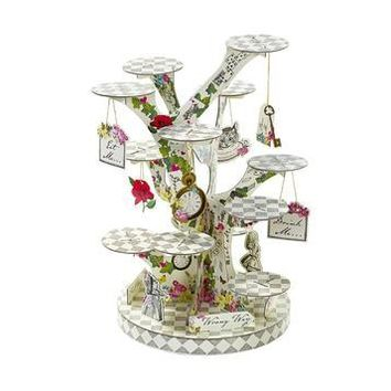 Truly Alice Terribly Terrific Cake Stand