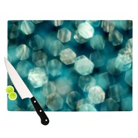 "Ingrid Beddoes ""Shades of Blue"" Cutting Board"
