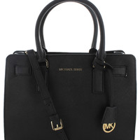Michael Kors Dillon Women's Saffiano Leather Satchel Handbag