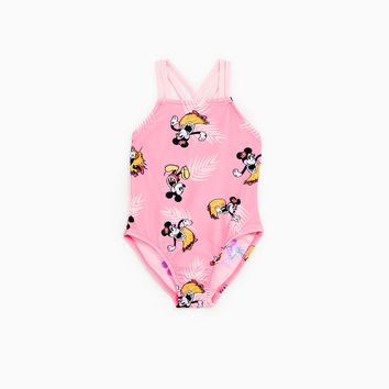 MICKEY MOUSE PRINT SWIMSUIT