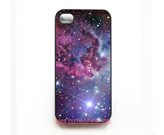 Fox Fur Nebula iPhone 4 Case iPhone 4s Case iPhone 4 by touchsoul