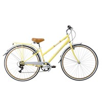 Huffy Sportsman 700c Modern Cruiser Bike - Women's (Yellow)