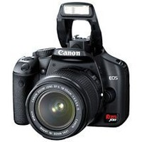 "Canon EOS Digital Rebel XSi Black ~ 12.2 MP Digital SLR Camera Kit w/ 18-55mm Lens & 3.0"" LCD"