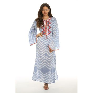 Coastal Caves Caftan Dress