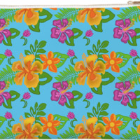 Hawaiian Tropical Clutch created by Natures Sol | Print All Over Me