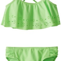 Angel Beach Big Girls'  Daisy Bikini Set