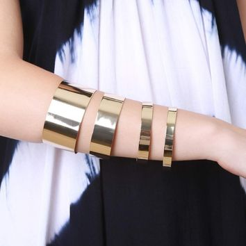 Metal Arm Cuff Set