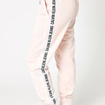 Calvin Klein Logo Taped Jogger Pants at PacSun.com