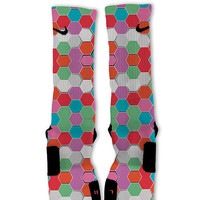 Hexagon Haze Custom Nike Elite Socks!