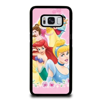 DISNEY PRINCESSES Samsung Galaxy S3 S4 S5 S6 S7 Edge S8 Plus, Note 3 4 5 8 Case Cover