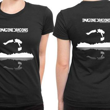 DCCKG72 Imagine Dragons Continued Silence 2 Sided Womens T Shirt