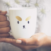 Puppycat Mug Bee and Puppycat Ceramic